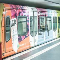 IGA-Tag beim Kundenzentrum der S-Bahn in Lichtenberg