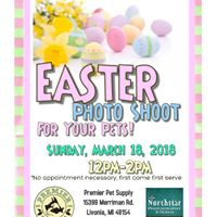 Easter Photo Shoot For Your Pets