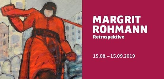 15. August bis 15. September Sonderausstellung Margrit Rohmann