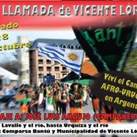 5ta. Llamada de Candombe Afro-Uruguayo de Zona Norte.