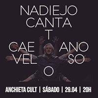Nadiejo Canta Caetano - Anchieta Cult