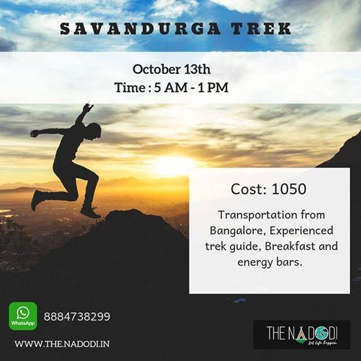 Savandurga Trek - Oct 13th