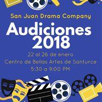Audicin San Juan Drama Company