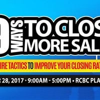 39 Ways to Close More Sales