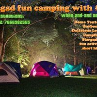 Fun Camping at Lohagad base Lonavala with Shoe Drill Adventures