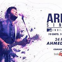 Arijit Singh India Tour  Ahmedabad