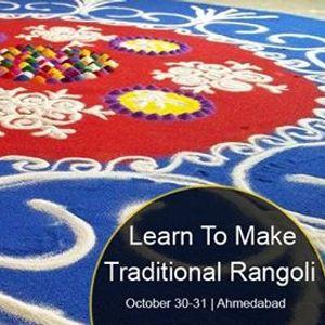 Learn To Make Traditional Rangoli