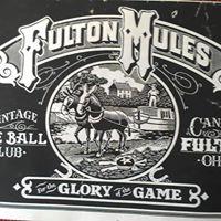 Fulton Mules Vintage Baseball Game