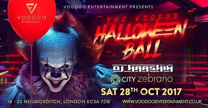 The Voodoo Halloween Ball - Sat 28th Oct 2017 - 146 Paddington