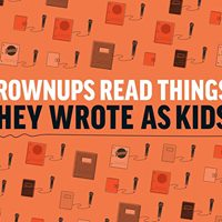 Grownups Read Things They Wrote as Kids London