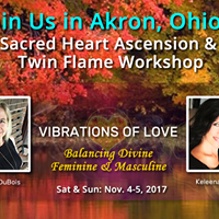 Akron Sacred Heart Ascension &amp Twin Flame Workshop