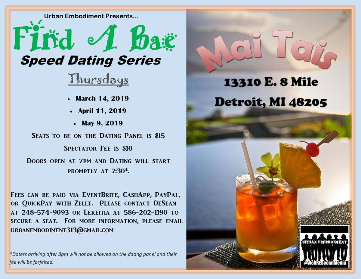 Speed dating Detroit Michigan