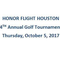 Honor Flight Houston Annual Golf Tournament Fundraiser