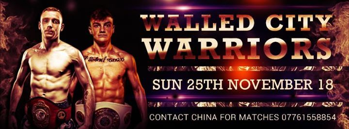 Walled city warriors fight show
