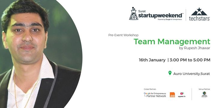 Pre-Event Workshop on Team Management