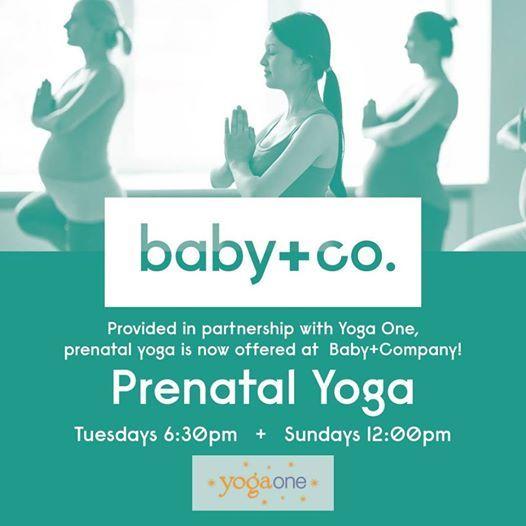 Prenatal Yoga at BabyCo.