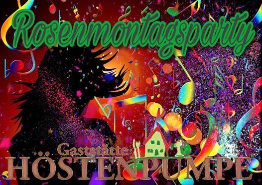 Rosenmontagsparty up de Hste