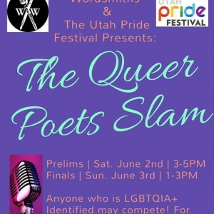 4th Annual QUEER POETS SLAM at The Utah Pride Festival