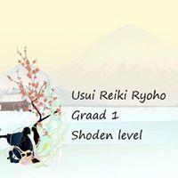 VB Graad 1 inwijdingcursus Usui Reiki Ryh - Shoden