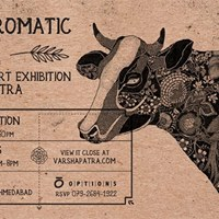Pen-&amp-Ink Art Exhibition by Varsha Patra