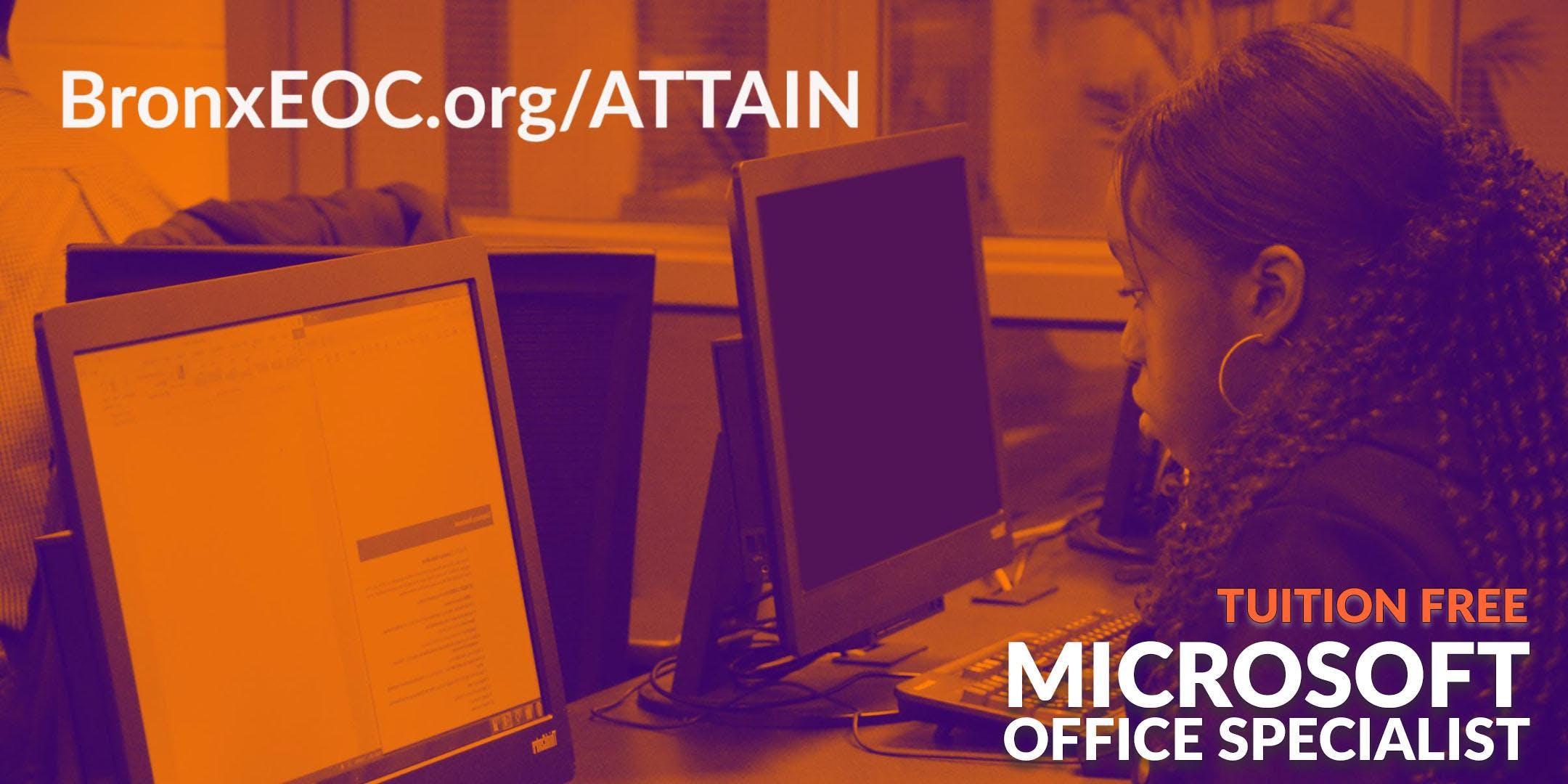 Free Microsoft Office Specialist Certification Class Apr 30 930