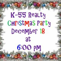K-55 Realty Christmas Party (Free for Members)