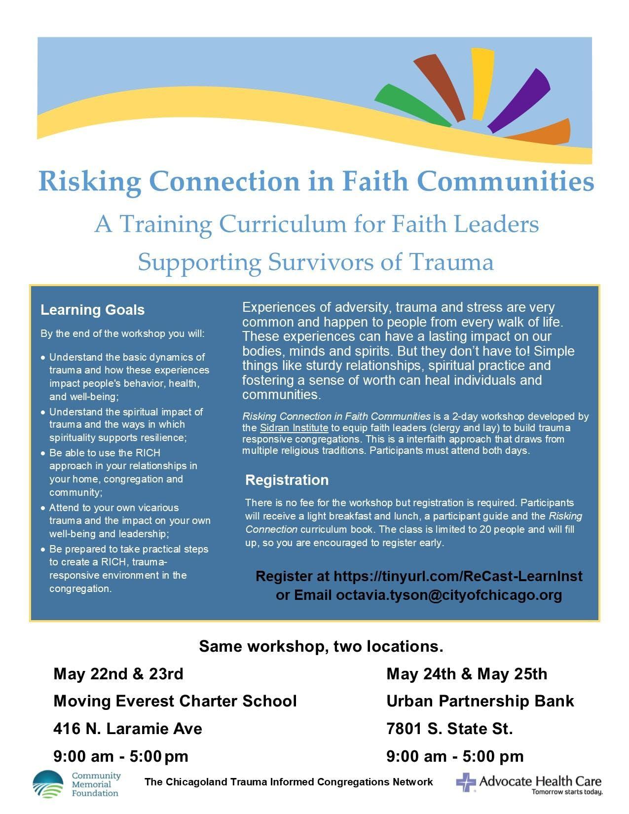 Trauma-Informed Faith Communities at Moving Everest Charter School ...