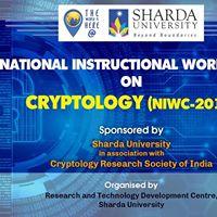 National Instructional Workshop in Cryptology (NIWC-2017)