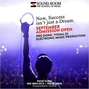 September Batch Soundroom DJ Admission 2018