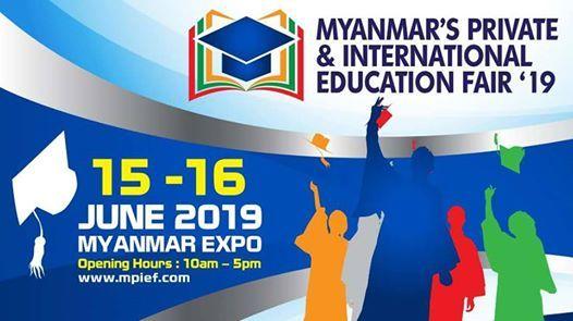 Myanmar's Private & International Education Fair 2019 at
