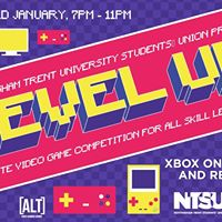 Level Up 1.0- Video Game Party Free Entry