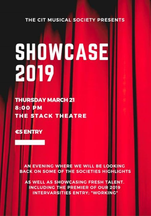 fcac5a32ad52 Showcase 2019 at CIT Musical Society