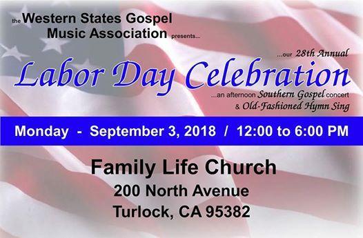 28th Annual WSGMA Labor Day Celebration & Old-Fashion Hymn