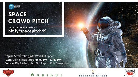 Space Crowd Pitch Accelerating into the world of S P A C E