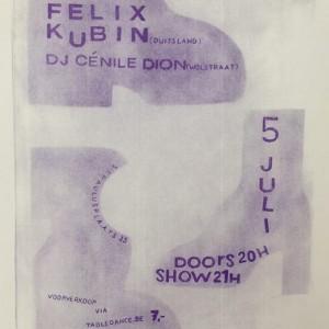 Felix Kubin &amp Dj Cnile Dion Table Dance