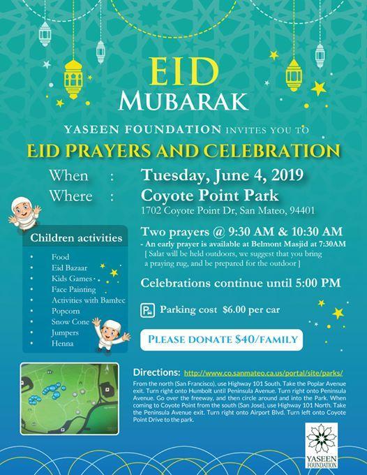 Eid Celebration at Coyote Point Recreation Area , San Mateo