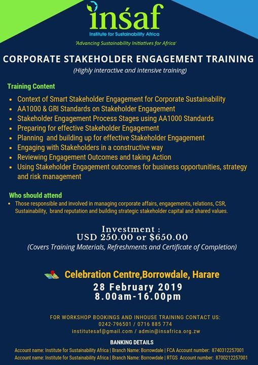 Corporate Stakeholder Engagement Training