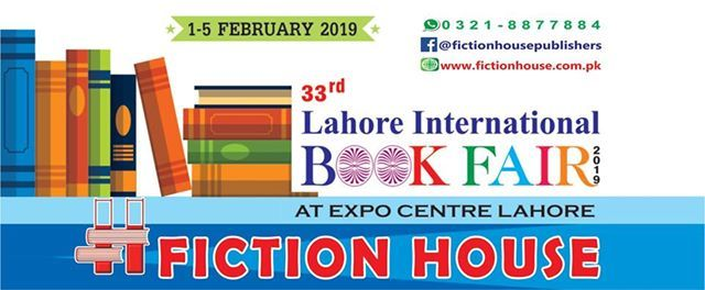 33rd Lahore International Book Fair 2019 at Fiction House