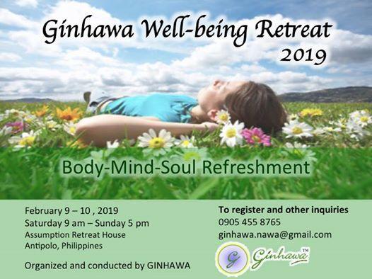 Ginhawa Well-being Retreat 2019