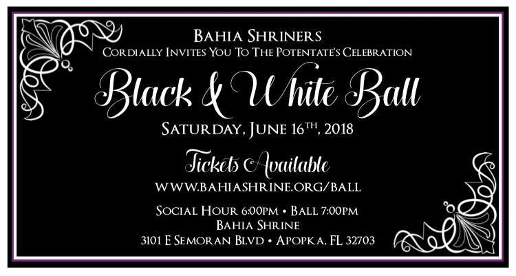 Bahia Shrine 2018 Potentates Ball | Apopka