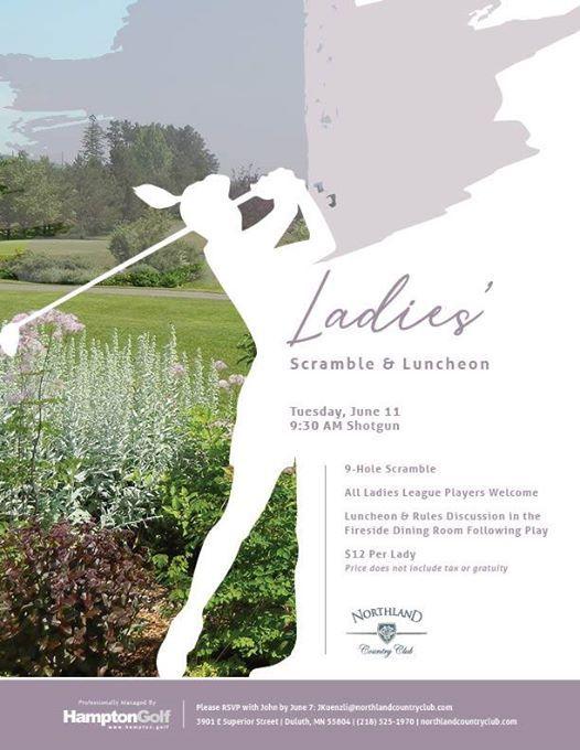 Ladies Scramble & Luncheon