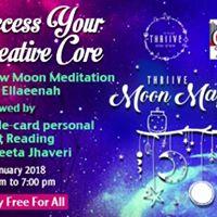 Access Your Creative Core - Moon magic meditation with Ellaeenah