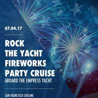 Rock the Yacht July 4th Fireworks Party Cruise Aboard Empress
