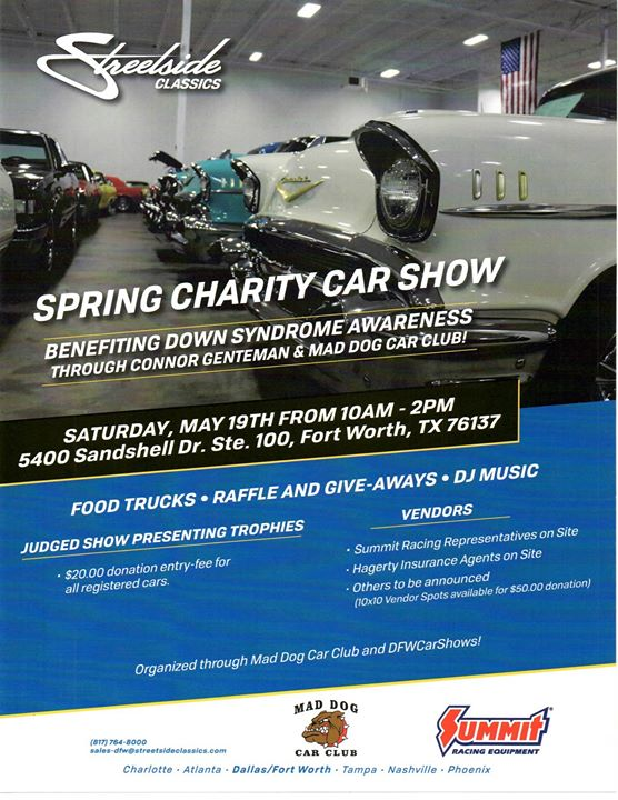 Spring Charity Car Show At Streetside Classics Fort Worth Fort Worth - Streetside classics car show