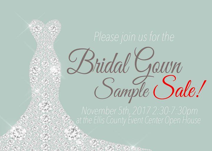 Bridal Gown Sample Sale at Ellis County Event Center, Waxahachie