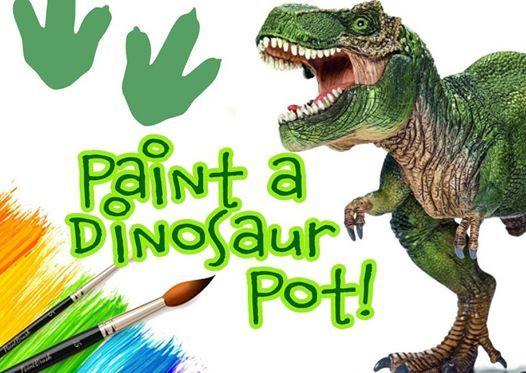 Paint a Dinosaur Pot 5