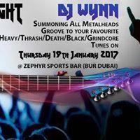 Heavy Metal Night (Open Mike Night)