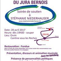 Soire de soutien  Stphanie Niederhauser