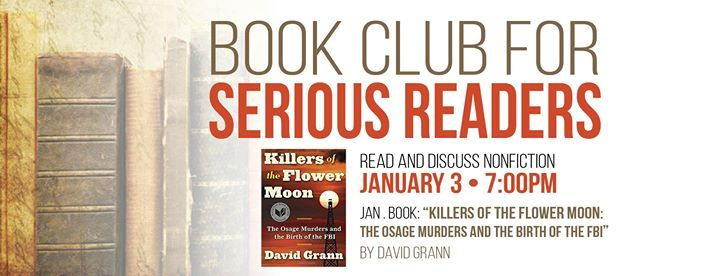 Book Club for Serious Readers at Gary Byker Memorial Library of
