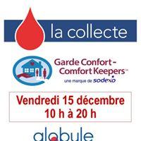 Garde Confort avec HmaQubec tiendront une collecte de sang